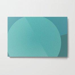Geometry Circle N.1 Metal Print