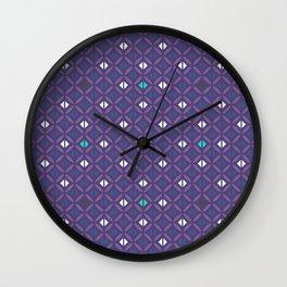 Arabian Nights Geometric Wall Clock
