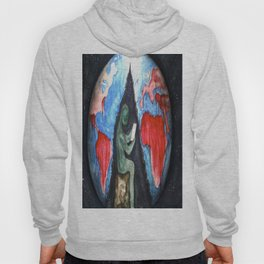 blood and suffer not me Hoody
