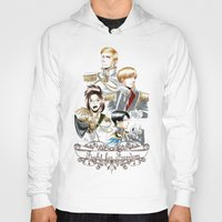 shingeki no kyojin Hoodies featuring OriSor Shingeki No Kyojin Royal Fanart  Attack on Titan by Mistiqarts by Mistiqarts