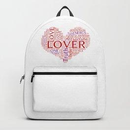 Manifest Love Word Art Backpack