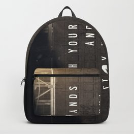 Stay Healthy! - Fight the Epidemic Backpack
