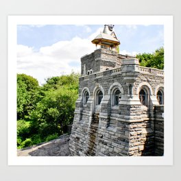 Castle Art Print