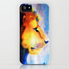 Technicolor King iPhone Case