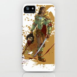 I came here to KILL YOU iPhone Case