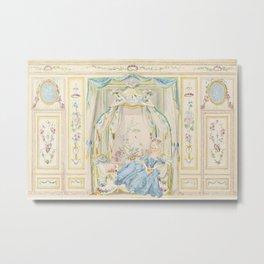 Marie Antoinette Petite Maison Metal Print