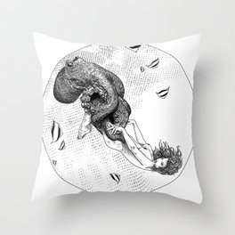 asc 438 - L'attachement pathologique (The stalking) Throw Pillow