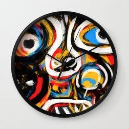 Anthropogonie Wall Clock