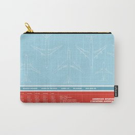 America aviation Carry-All Pouch