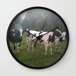 German Cows Wall Clock