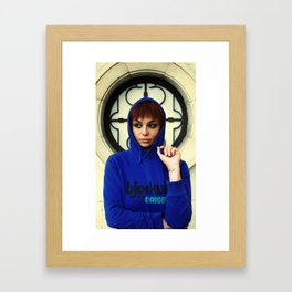 Urban Saints #2 Framed Art Print