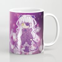 chibi Mugs featuring Chibi Barasuishou by Yue Graphic Design