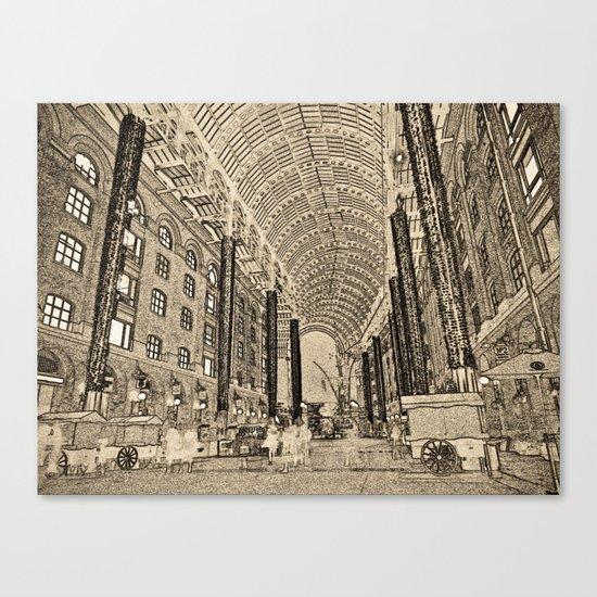 Hay's Galleria London Canvas Print
