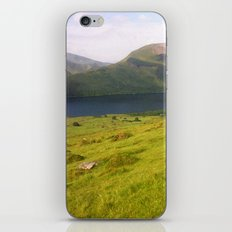 Wales watercolour iPhone & iPod Skin