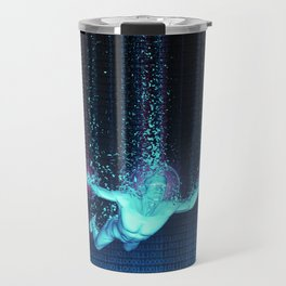 Virtual Reality Diver Travel Mug