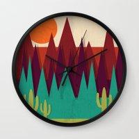 arizona Wall Clocks featuring Arizona by Kakel