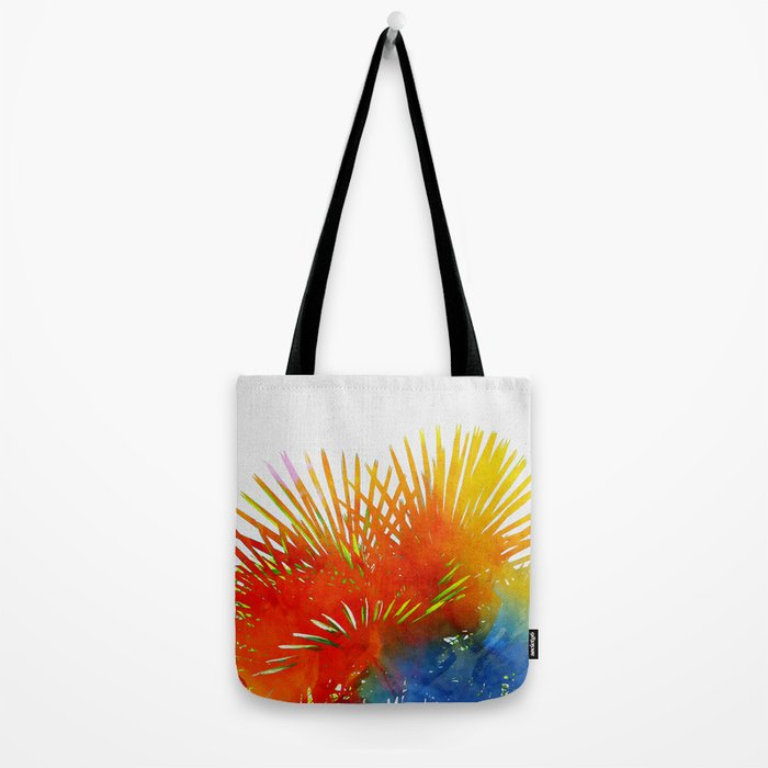 Enchanted Palm Leaves Tote Bag
