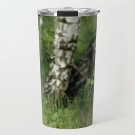 Birch Trees Travel Mug