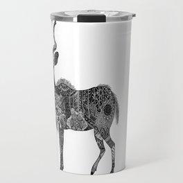 Henna-Inspired Kudu  Travel Mug