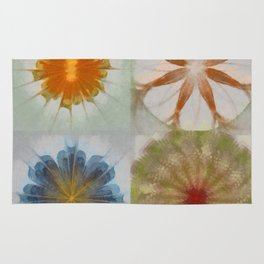 Fulvous Certainty Flowers  ID:16165-113635-96480 Rug