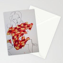 A Girl Who Began as Natalia Vodianova Stationery Cards