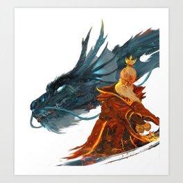Fire Lord Sozin Art Print