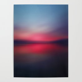 Abstract Landscape 27 Poster