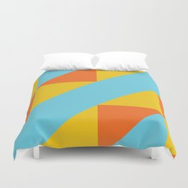 Andean Encounters Duvet Cover
