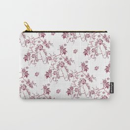 Penis Pattern RED Carry-All Pouch