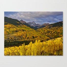 Aspen Sunrise, Colorado Canvas Print