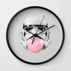 Stormtrooper Bubble Gum Wall Clock