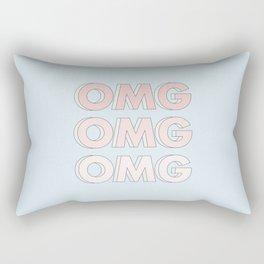 OMG OMG OMG Rectangular Pillow