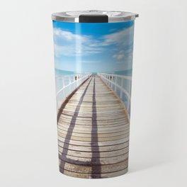 Beach Dock Travel Mug