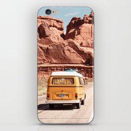 Desert Road Trip iPhone Skin