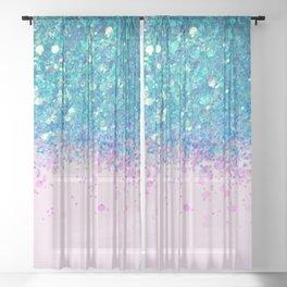 Unicorn Princess Glitter #4 (Photography) #sparkly #decor #art #society6 Sheer Curtain