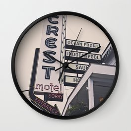 That Day at the Crest Wall Clock
