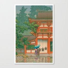 Kawase Yusui made Nara Kasuga Taisha Canvas Print