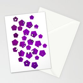 Pentagons of May 27 Stationery Cards