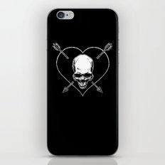Eros & Thanatos (Jolly Roger Black Flag) iPhone & iPod Skin