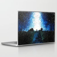 interstellar Laptop & iPad Skins featuring Interstellar by LucioL