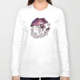 Mushroom Girls Long Sleeve T-shirt