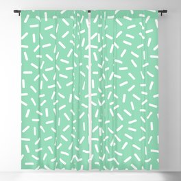 Memphis sprinkles Pattern 131 Blackout Curtain
