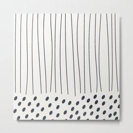 Coit Pattern 77 Metal Print