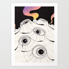 planets have ears Art Print