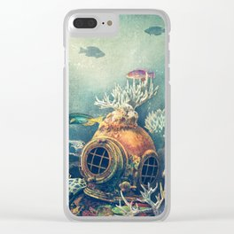 Sea Change Clear iPhone Case