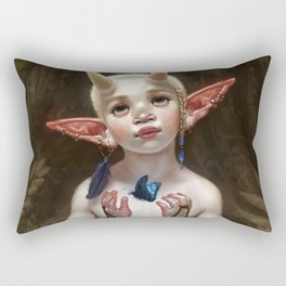 Child of the Forest Rectangular Pillow