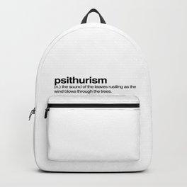 psithurism Backpack