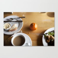The Scenic Cafe Canvas Print