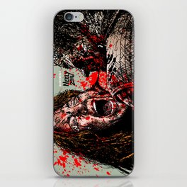 The Walking Dead: Savior Paula Gets it. Played by Alicia Witt. iPhone Skin