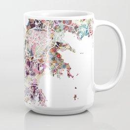Noumea map Coffee Mug